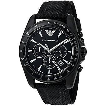 Orologio da uomo Emporio Armani Ar6131 Sigma Black Dial cronografo