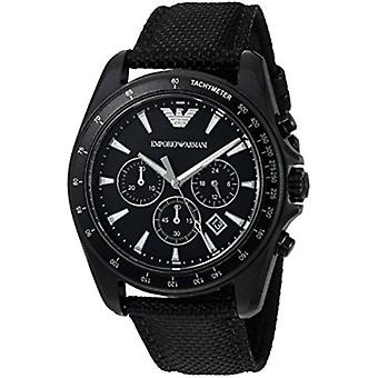 Emporio Armani Ar6131 Sigma Black Dial Chronograph Men's Watch