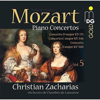 W.a. Mozart - Mozart: Piano Concertos, Vol. 5 [SACD] USA import