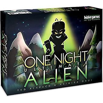 Bezier Games One Night Ultimate Alien Game Card Game