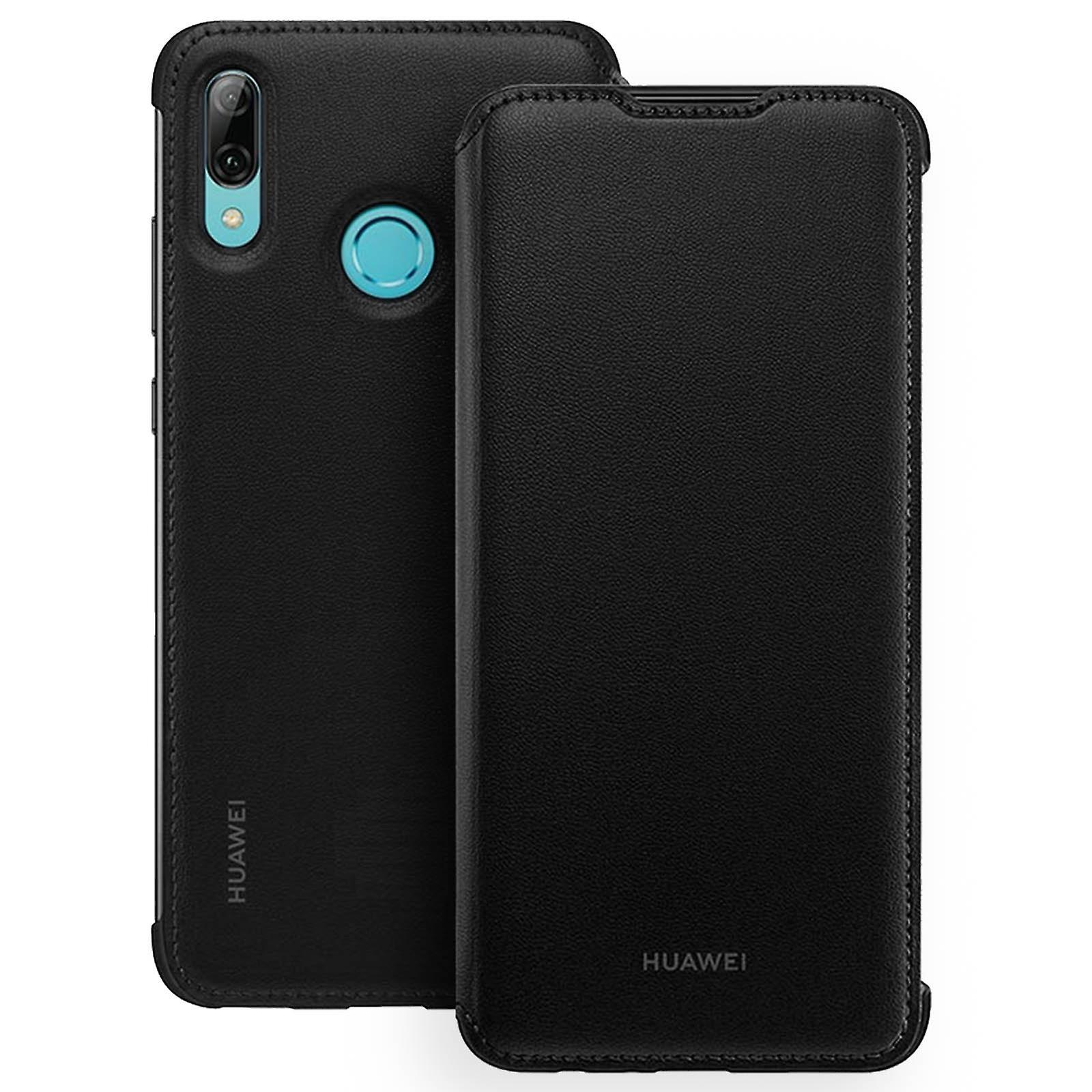 Huawei P Smart case 2019/Honor 10 Lite étui de rangement carte-noir