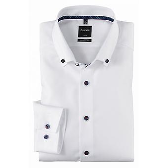 OLYMP Olymp Plain Formal Fashion Long Sleeve Shirt