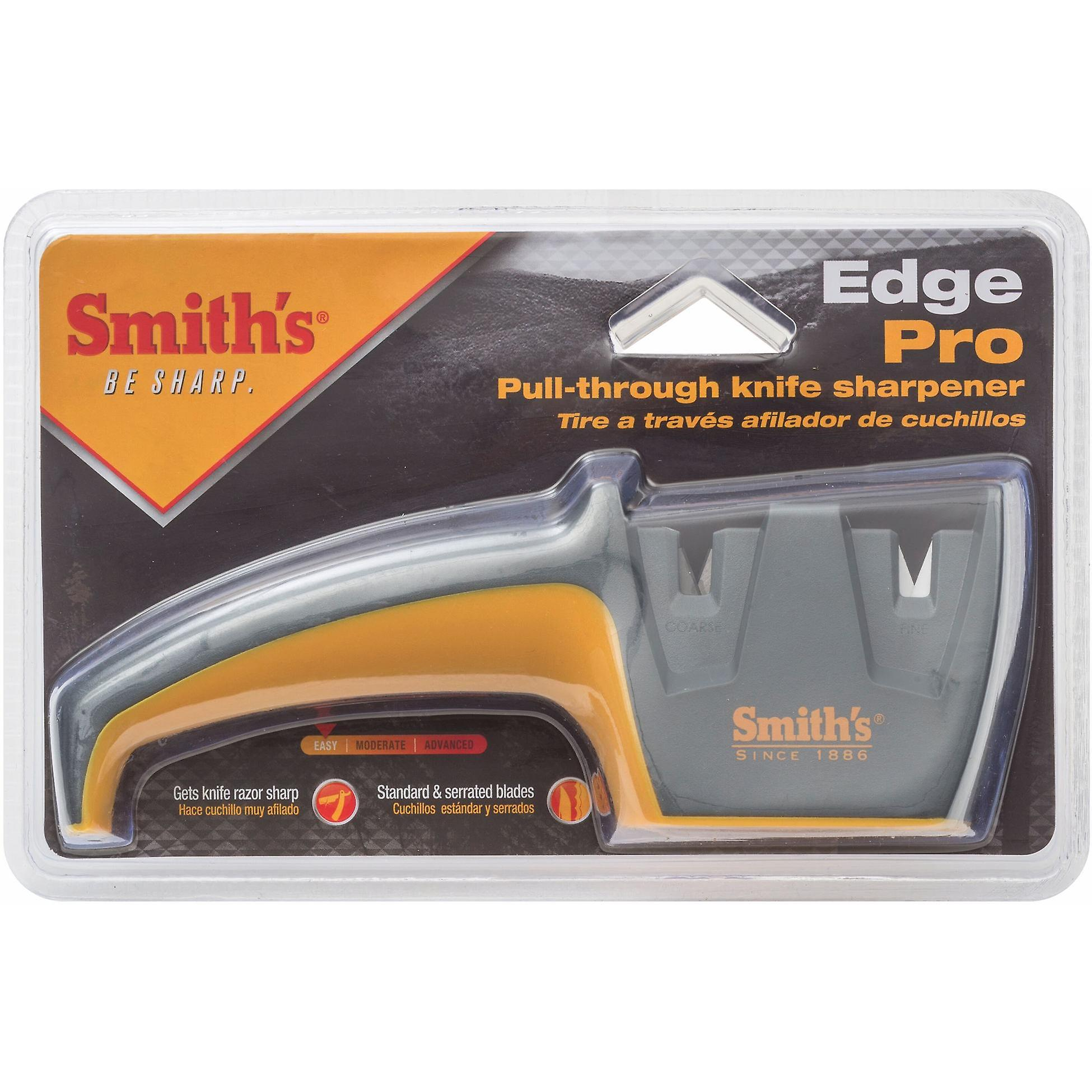 Smiths Edge Pro knife sharpener - pull through - coarse and fine sharpening
