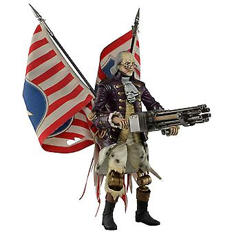 Bioshock Infinite Benjamin Franklin Heavy Hitter 9-inch Action Figure