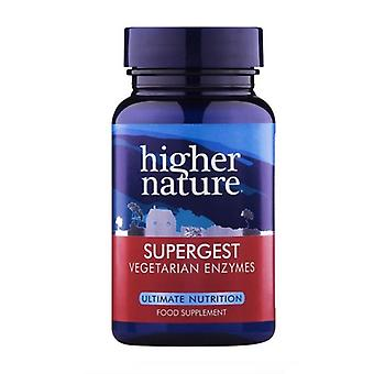 Higher Nature SuperGest Vegetable Capsules 90
