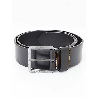 BOSS Casual Jeeko Leather Belt - Black