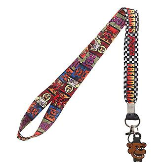 Lanyard - Cinco noches en Freddy's New la44byfnf