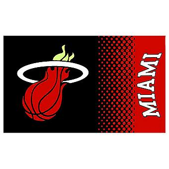 Miami Heat NBA ufficiale dissolvenza bandiera