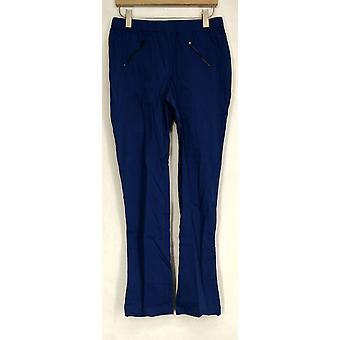 Wendy Williams Pants Drawstring Hem Pull-On Pants Blue Womens 401-671