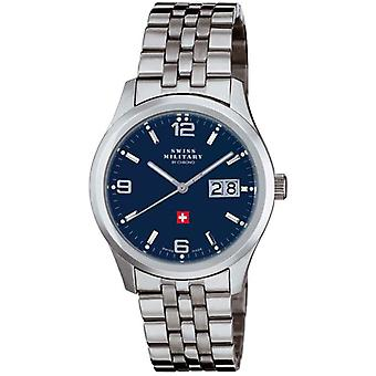 Swiss Military Quartz Analog Man Watch with SM34004.03 Stainless Steel Bracelet