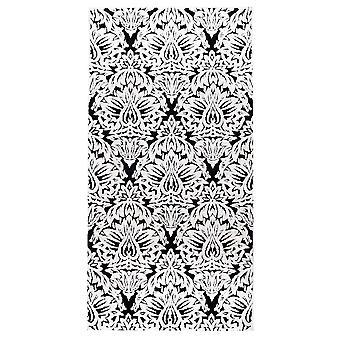 Pierre Cardin Design matto akryyli valkoinen/musta