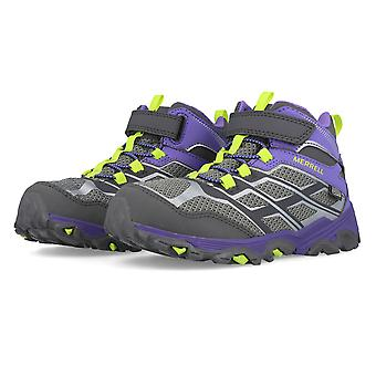 Merrell Moab FST Mid A/C Waterproof Junior Walking Shoes