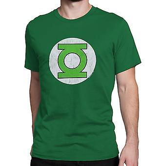 Vihreä Lyhty symboli ahdistunut T-paita