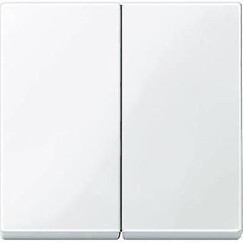 Merten Cover Series switch System M Polar white glossy 432519