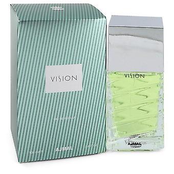 Ajmal vision eau de parfum spray by ajmal 545335 100 ml