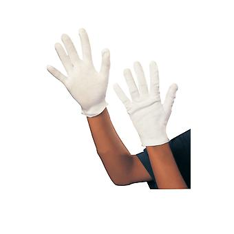 Kids White Magician Gloves Santa Christmas Fancy Dress Costume Accessory