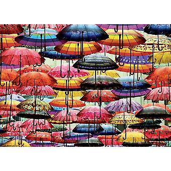 Piatnik Colourful Umbrellas Jigsaw Puzzle (1000 Pieces)