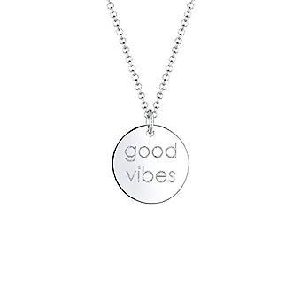 Elli Silber Anhänger Halskette 0102991218_45