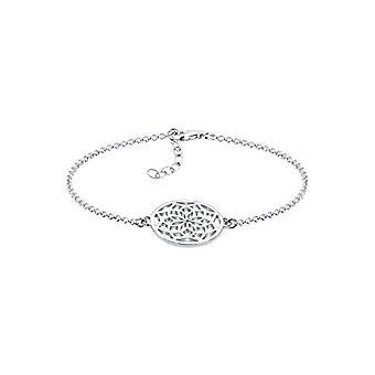 Elli dame armbånd i sølv 925 med Aconesall mønster