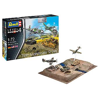 Revell 3352 1:72 D-Day 75th set, Kit modello in plastica