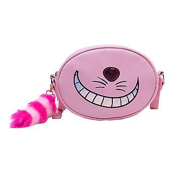 Alenka v říši divů a tašek Cheshire Cat nový oficiální úředník Disney Vomens růžový