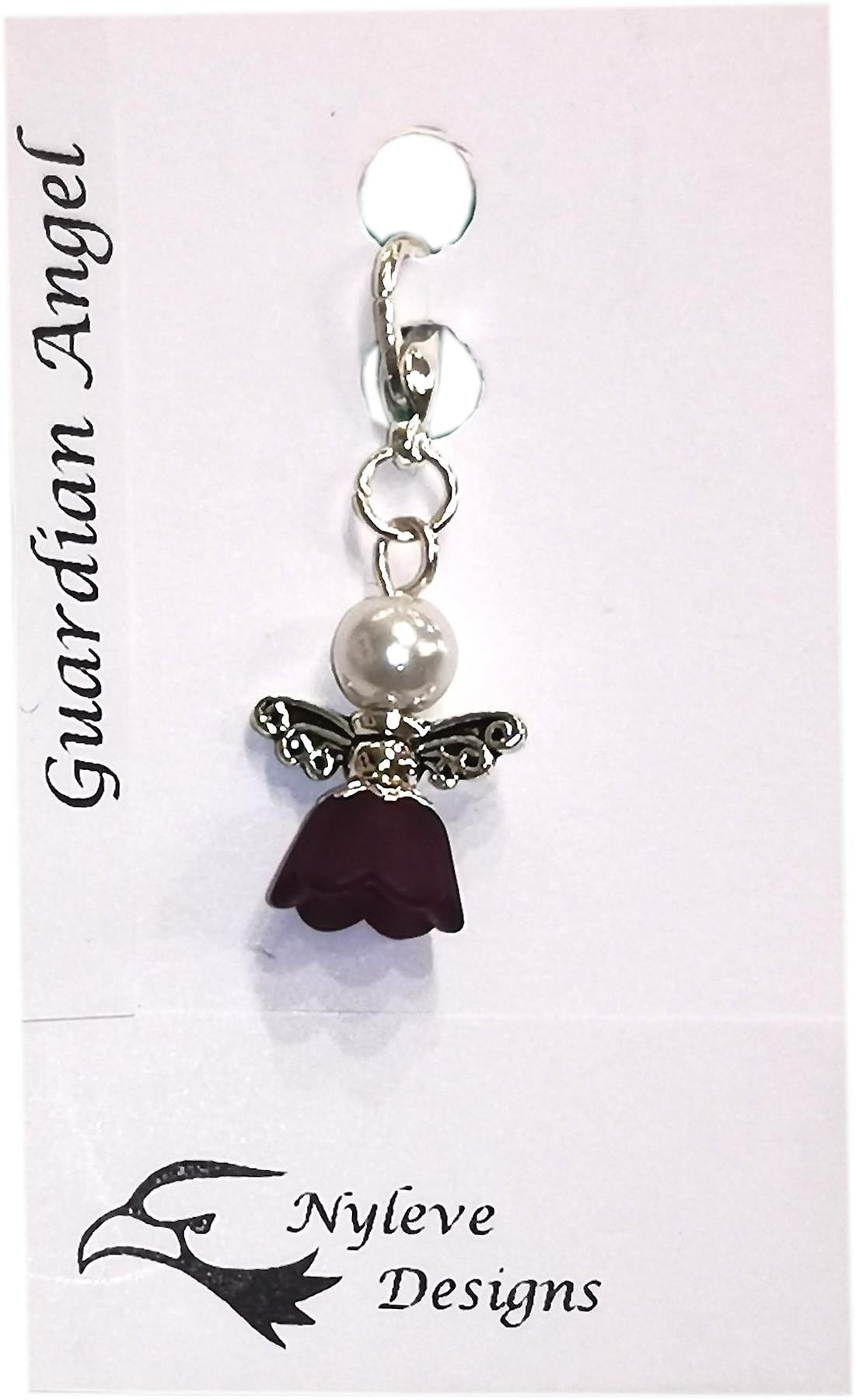 Nyleve Designs handmade Clip-on Angel/Fairy Charm White