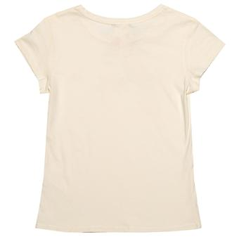 Infant Girls Juicy Couture Gothic Script T-Shirt In Off White- Short Sleeve-