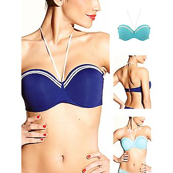 Tanganica Bandeau Bikini Top