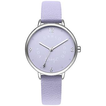 Mr wonderful dream forever Quartz Analog Woman Watch with Synthetic Leather Bracelet WR50300
