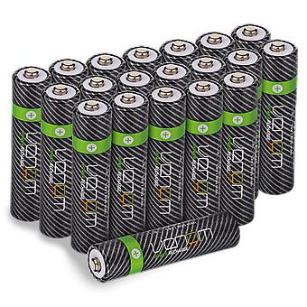 Venom power recharge - 800mah nimh rechargeable aaa batteries (pack of 20)