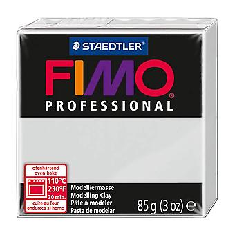 Fimo Professional Modelling Clay, Dolphin Grey, 85 g