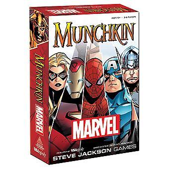 Jeu de cartes Munchkin Marvel