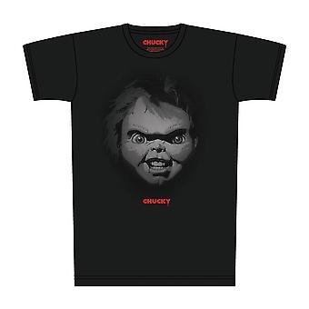 T-shirt med Chucky-portræt