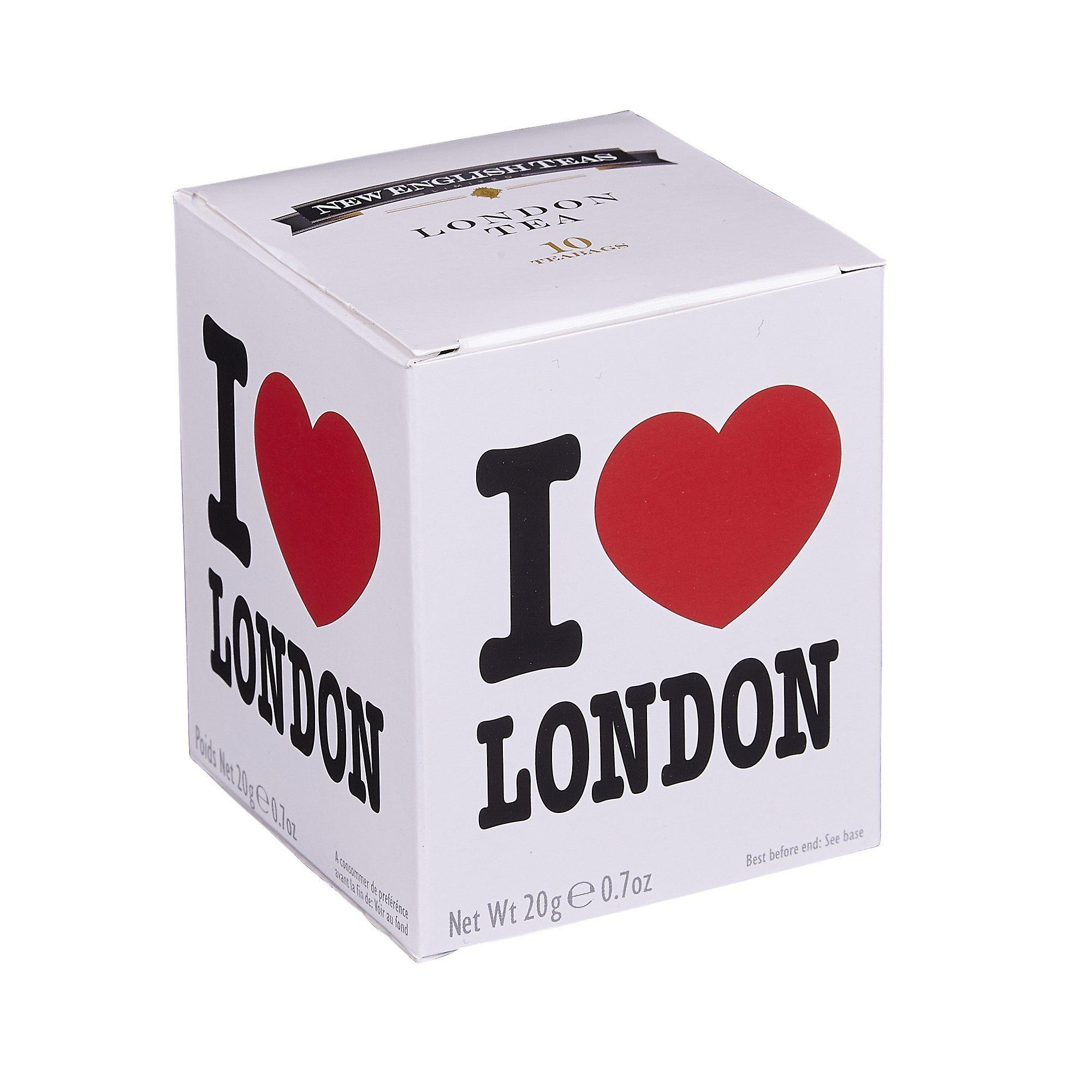 I love london afternoon tea 10 teabag carton