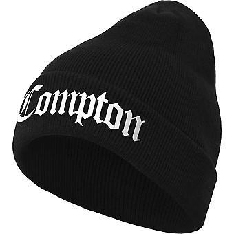 Merchcode Winter Hat Beanie - COMPTION black