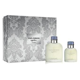 Men's Parfüm Set Licht blau Dolce & Gabbana (2 Stück)