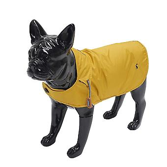 Rosewood Joules Mustard Raincoat Large for Dogs