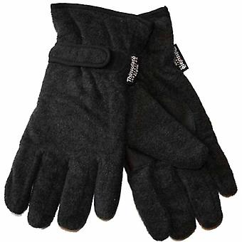 New Mens Thermal Thinsulate Lined Fleece Warm Winter Gloves GL127