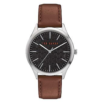 Ted Baker BKPMHF902 Men's Manhatt Black Dial Wristwatch