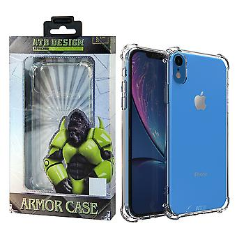 ATB Design Anti Shock Case TPU+PC iPhone Xr Transparent