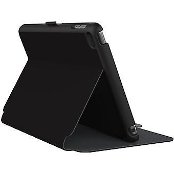 Speck StyleFolio Cas pour Apple iPad mini 4 - Noir / Slate Grey