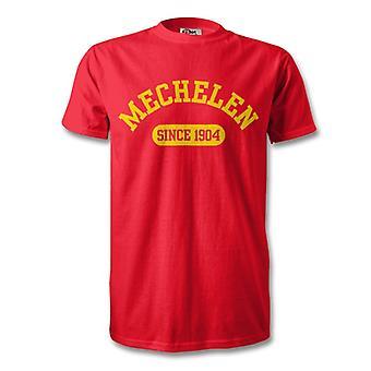 Mechelen 1904 gegründet Fussball T-Shirt