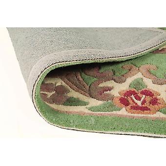 Lotus Premium Aubusson teppe-rektangulær-grønn