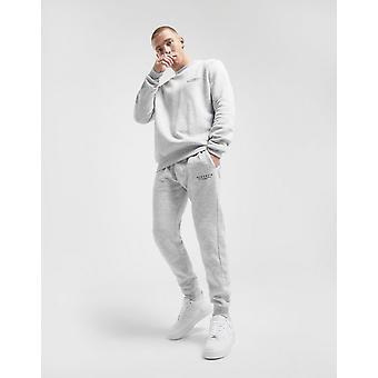 New McKenzie Men's Essential Cuffed Track Pants Grey