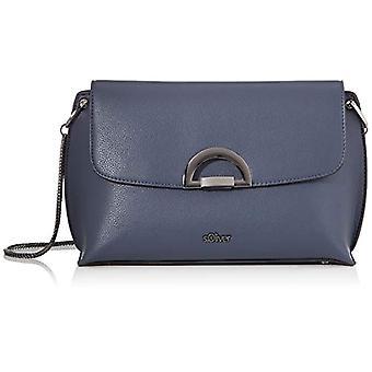 s.Oliver s.Oliver39.909.94.2370 امرأة حقيبة الكتفالأزرق الأزرق (الأزرق) 9x17x27 سنتيمتر (B x H x T)