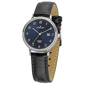 ATRIUM Women's Watch Wristwatch Analog QuartzA29-15 Leather Date