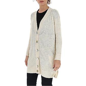 Gentry Portofino D740isg0011 Women's White Cotton Cardigan