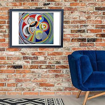 Robert Delaunay - Rhytmus Poster Print Giclee