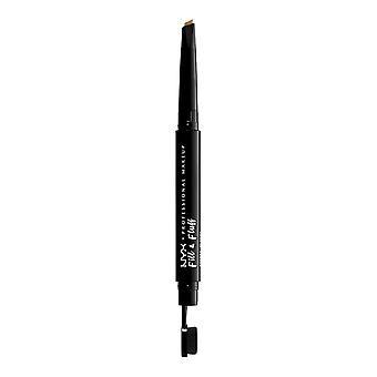 NYX PROF. MEIKKI Täytä & Fluff Kulmakarvojen Pomade Pencil - Vaalea