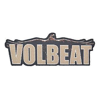 Volbeat Raven Logo uitgesneden geweven Patch